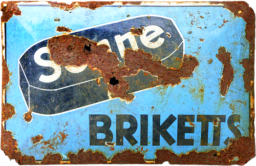 Email Sign, Enamel, Advertising Sign, Old Sign, Old