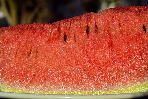 Melon, Watermelon, Fruit, Red, Food, Pulp, Refreshment