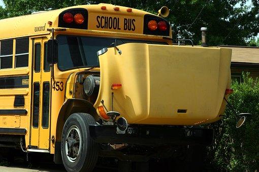 Bus, School Bus, Break Down, Schoolbus, Repair