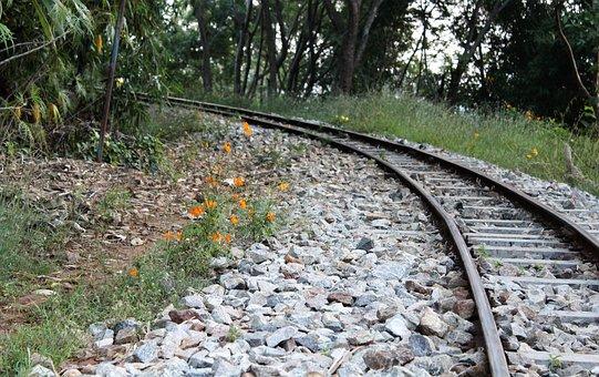 Railtrack, Track, Pathway, Iron