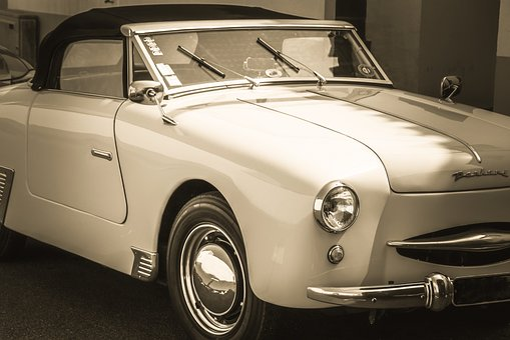 Old Car, Vintage Car, Panhard, Panhard Dyna