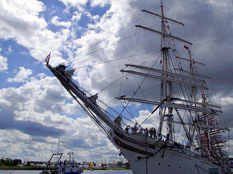 Sailing Ship, You Have, Rigging, Ship, The Waterfront