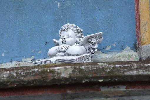 Angel, Cherub, Monument, Church