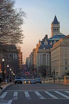 District, Financial, Sidewalk, Architecture
