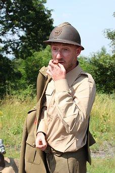 Soldier, Military, War, Second World War, Uniform, Army