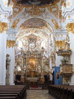 Regensburg, Old Chapel, Germany, Bavaria, Baroque