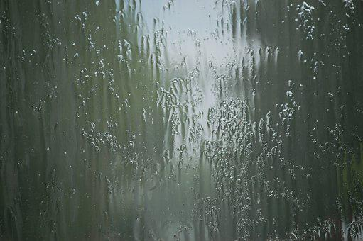 Rain, Glass, Window, Light, Drop, Blur, Season, Sad