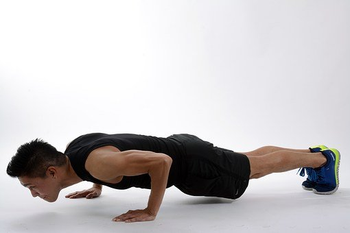 Burpee, Push Up, Plank, Start Position, Body, Athlete
