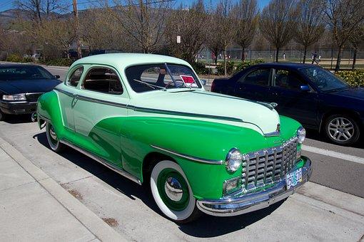 Dodge, Custom, Coupe, Automobiles, Car, Vehicle