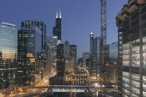 Chicago, Sears Tower, Willis Tower, South, Skyline