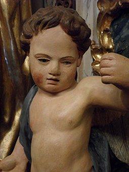Cherub, Child, Angel, Face, Angel Figure, Fig
