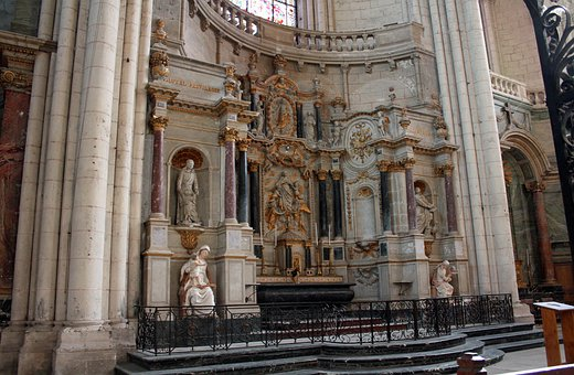High Altar, Church Carvings, Religious Carvings