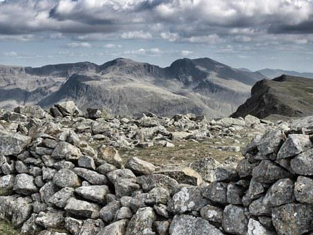 Scafell Pike, Lake District, Great Gable, Cumbria