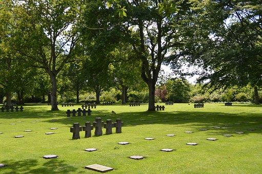 Cemetery, German Cemetery, Death, Falls, Burial