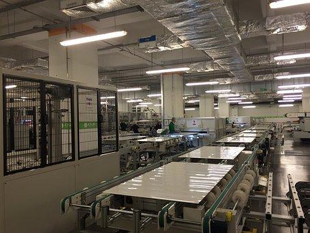 Solar, Factory, Panel, Photovoltaic, Renewable
