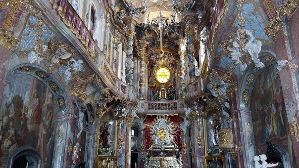 Asamkirche, Church, Altar, Catholic High Altar, Faith