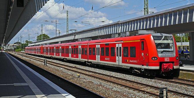 S Bahn, Platform, Hbf, Central Station, Br425