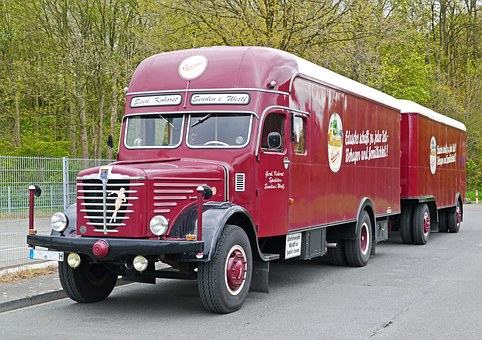 Büssing, Truck, 1956, Historically, Restored