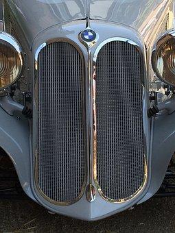 Auto, Oldtimer, Classic, Automotive, Spotlight, Horn