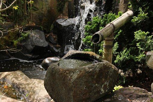 Japanese Garden, Water Feature, Timelessness, Flow