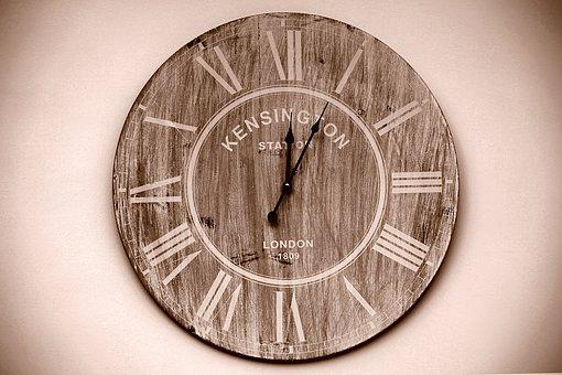 Clock, Time, Time Clock, Minute, Hour, Face, Second