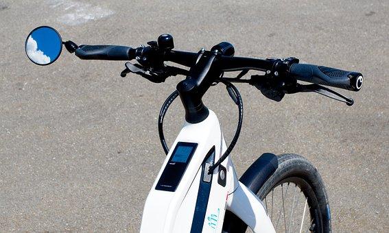 Modern, Technology, Bike, Electric Drive