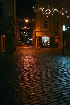 Czech Republic, Morava, Olomouc, City, Street