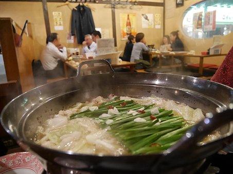 Japan, Cuisine, Hakata, Grilled Chicken, Motsu Nabe