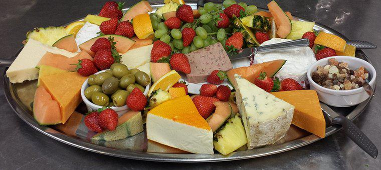 Food, Dairy, Cheddar, Olives, Cheese