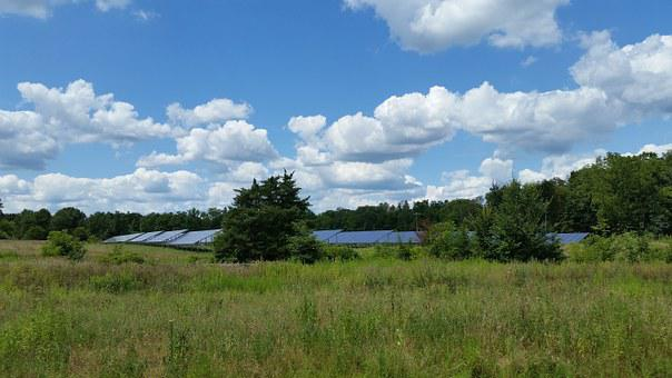 Solar, Panels, Energy, Green, Power, Environment