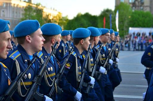 Parade, May 9, Victory Day, Russia, George's Ribbon