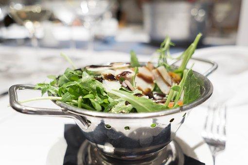 Salad, Parmesan Cheese, Parmesan, Cheese, Food