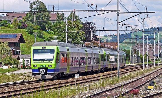 Emmental, Railcar, Regional Train, Bls, Canton Of Berne