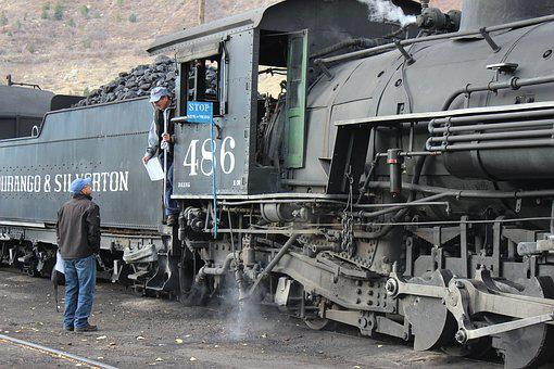 Colorado, Historic, Southwest, Railroad, Silverton