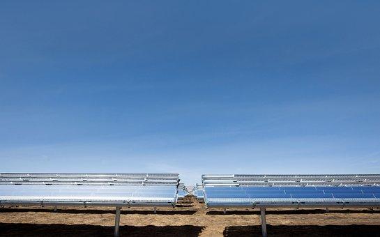 Sky, Of Technology, Sun, Solar Panels, Energy