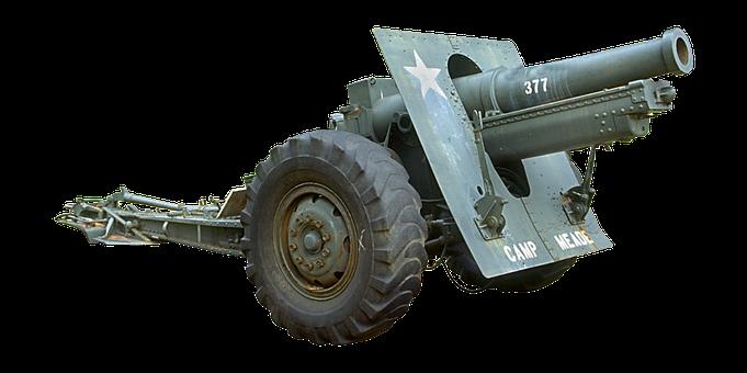 Cannon, Tool, Ammunition, Powder, Sleeve, Military