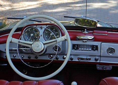 Steering Wheel, Auto, Interior, Speedo, Autoradio