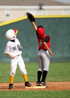 Baseball, Players, Infield, Second Base, Sport, Ball