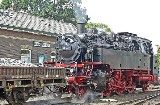 Steam Locomotive, Tank Locomotive, Baureihe 64