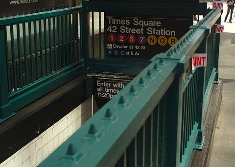 Nyc, Subway, Mta, Manhattan, Train, Transportation