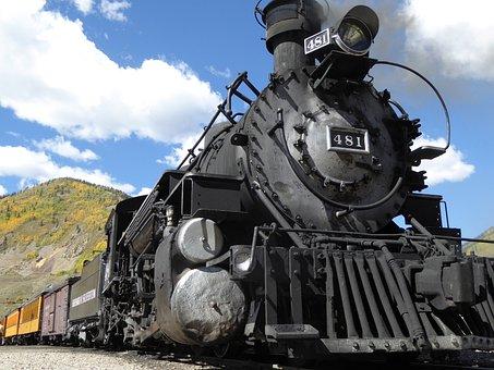 Railway, Steam, Locomotive, Steam Locomotive, Train