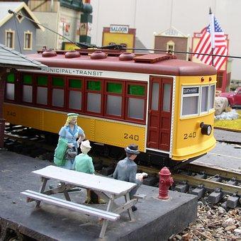 Trolly, Transportation, Mass Transit, Train, Usa