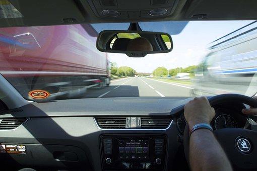 Motorway, Drive, Highway, Traffic, Road, Vehicle