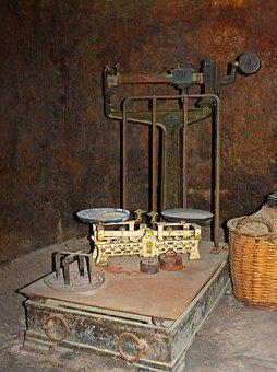Scale, Scales, Weight, Despite, Old, Vintage, Measure