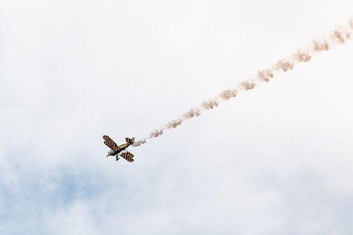 Aerotek Pitts, Aircraft, Flying, Flugshow