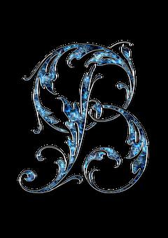 Letter, Letter B, B, Initials, Font, Alphabet