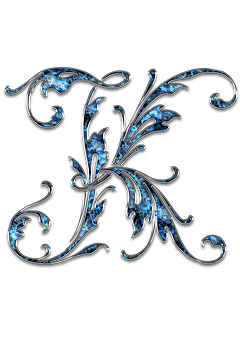 Letter, Letter K, K, Initials, Font, Alphabet