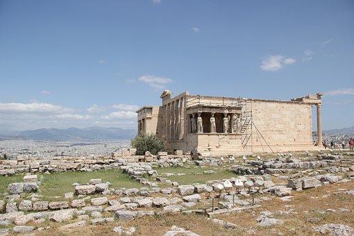 Athens, Acropolis, The Erechtheion