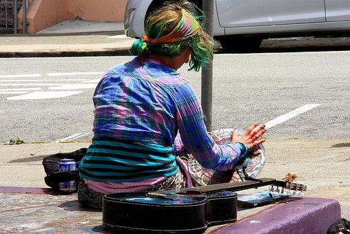 San Francisco, Usa, California, Haight Ashbury