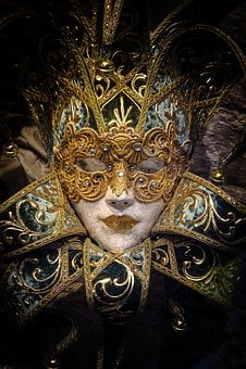 Venice, Mask, Carnival, Venetian, Masquerade, Costume